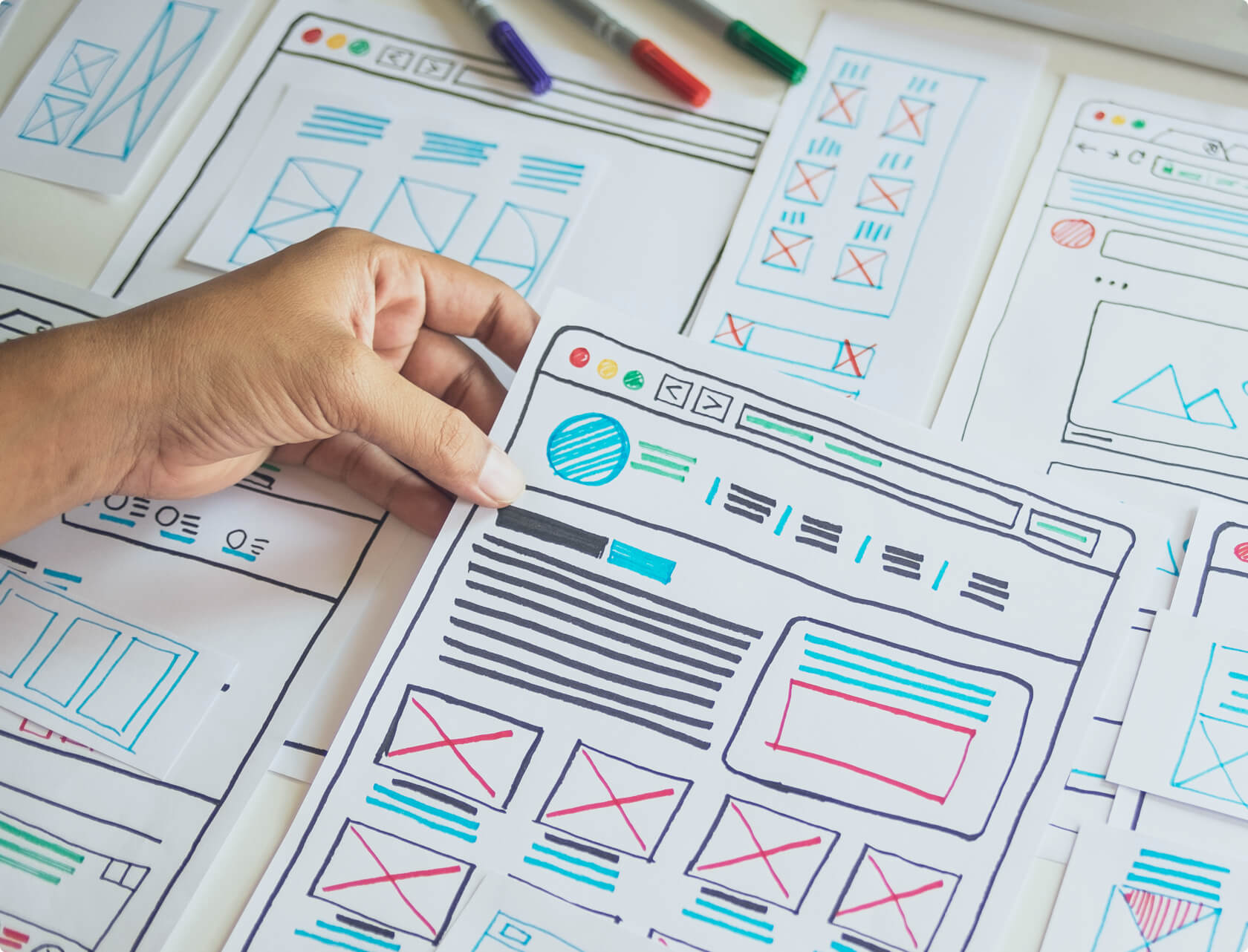 A product design sketching