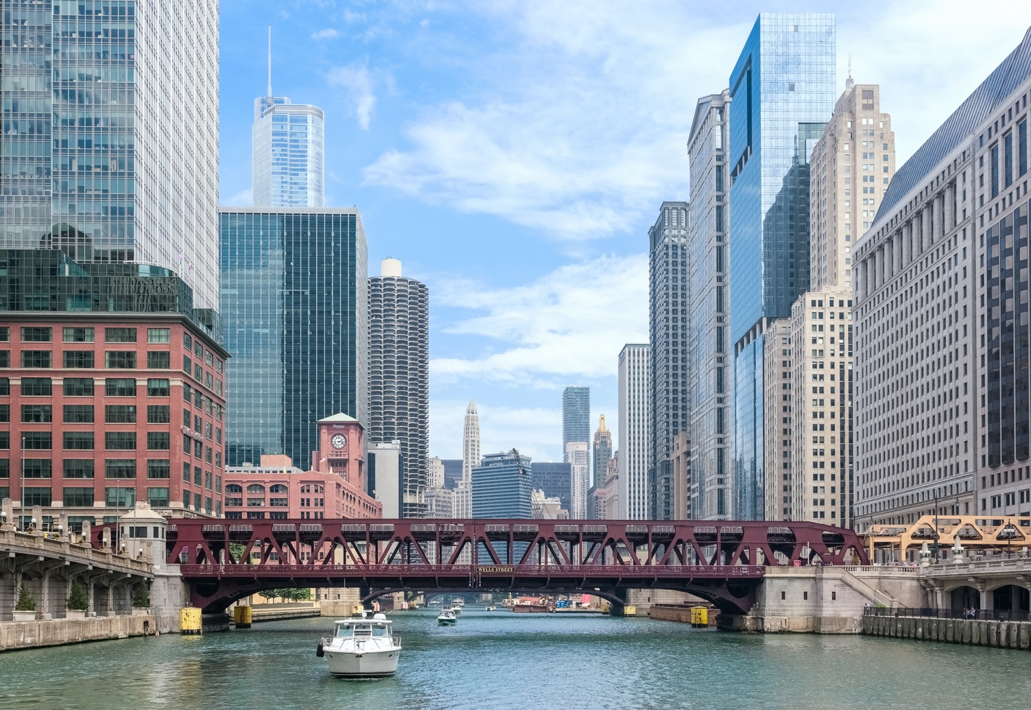 View of the Chicago River