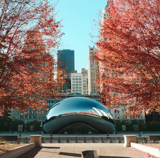 Chicago's Millennium Park and Cloud Gate