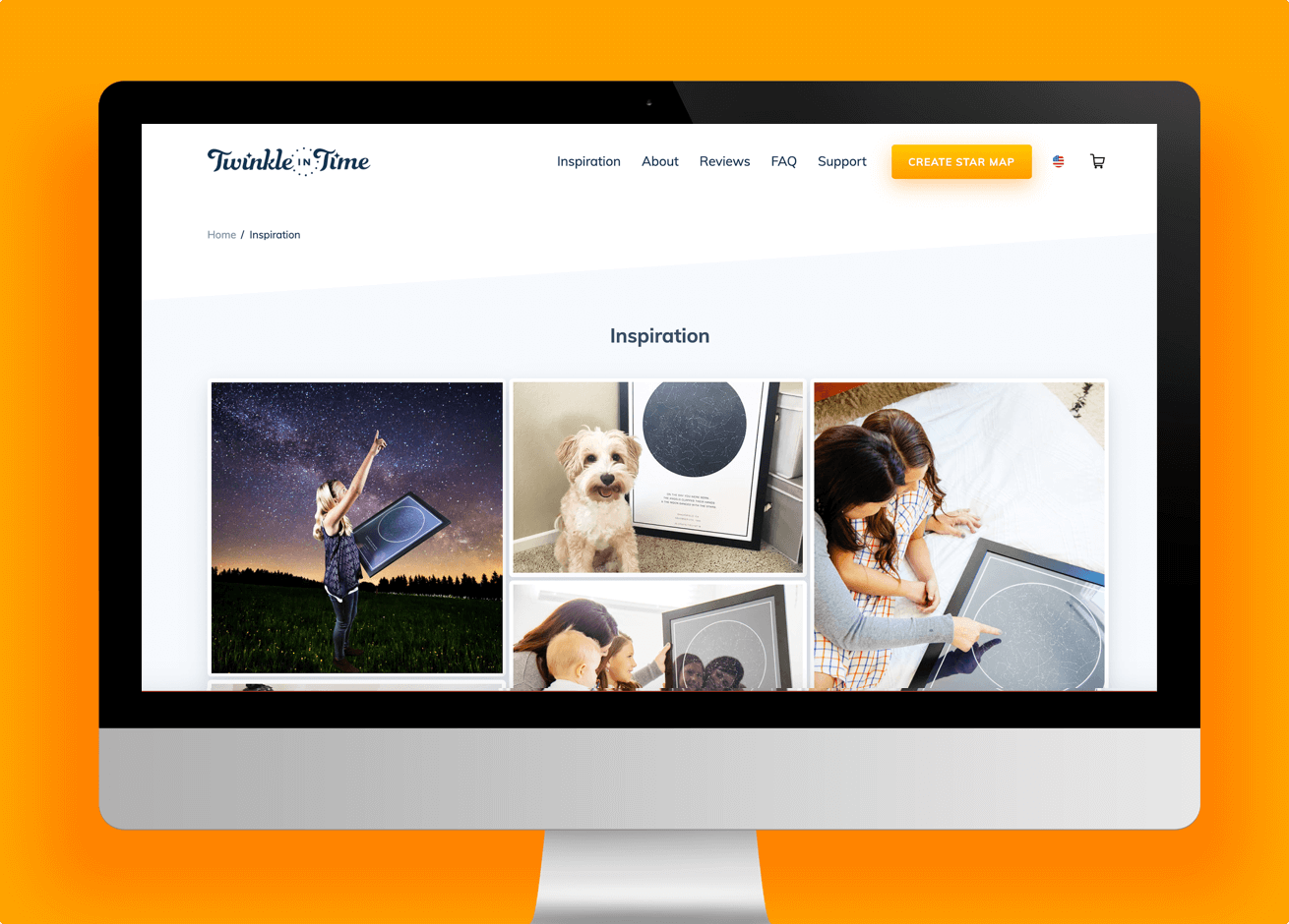 Twinkle in Time website